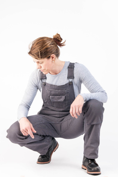 Dovetail Workwear Freshley Stretch Canvas Overall - Women's
