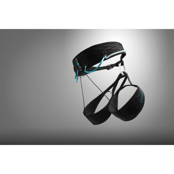 Black Diamond Airnet Harness - Women's - Black - Aqua Verde