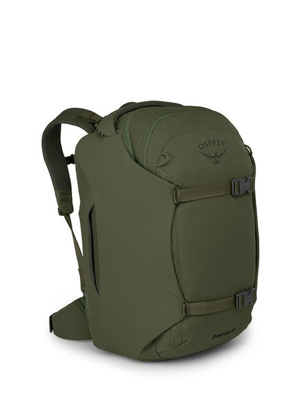 Osprey Porter 46 Travel Duffel Backpack - Haybale Green
