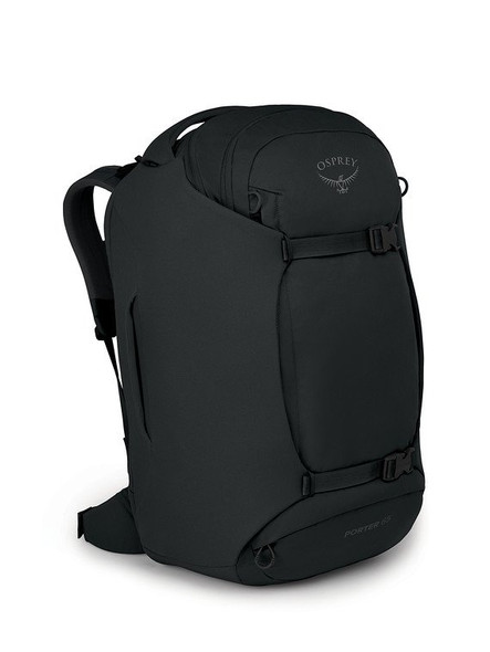 Osprey Porter 65 Travel Duffel Backpack - Black