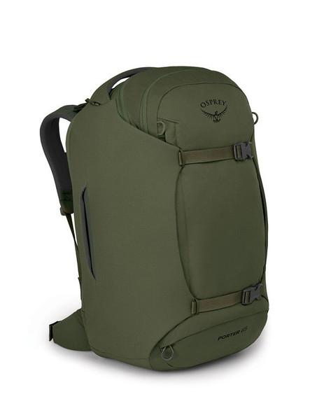 Osprey Porter 65 Travel Duffel Backpack - Haybale Green
