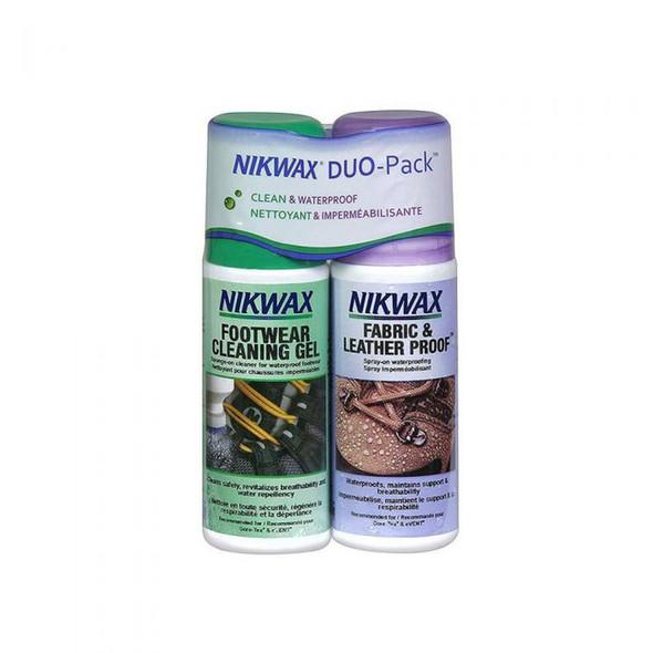 Nikwax Footwear Cleaning Duo Pack