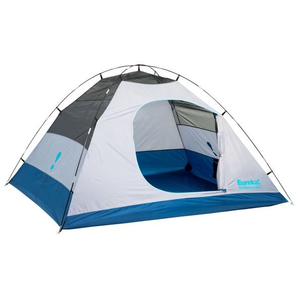Eureka Tetragon NX 2 Person Camping Tent - Mykonos Blue