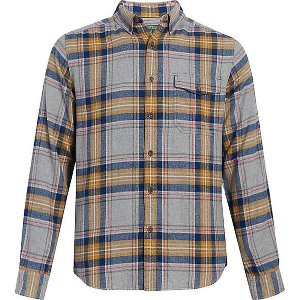 Woolrich Eco Rich Twisted II Shirt - Men's - Medium - Cinder