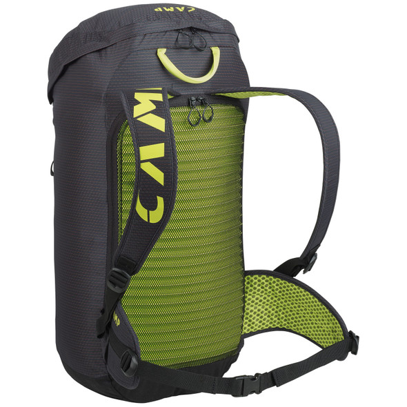 CAMP Rox Alpha Climbing Backpack - Black/Yellow
