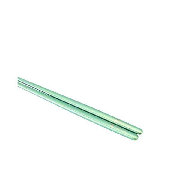 Snow Peak Titanium Chopsticks - Green