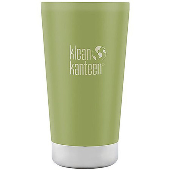 Klean Kanteen Stainless Steel Tumbler Cup with Klean Coat Double Wall Vacuum Insulated  - Bamboo Leaf