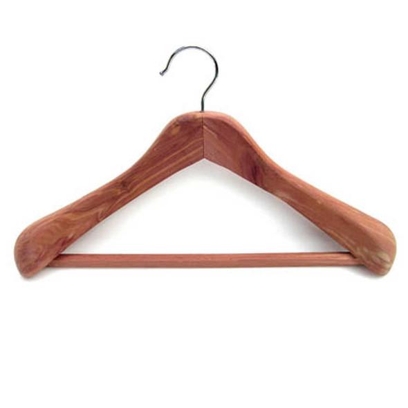 Household Essentials Cedar Hangar - One Size