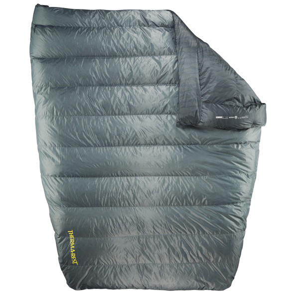 Thermarest Vela Down Double 20 Degree Quilt - Storm