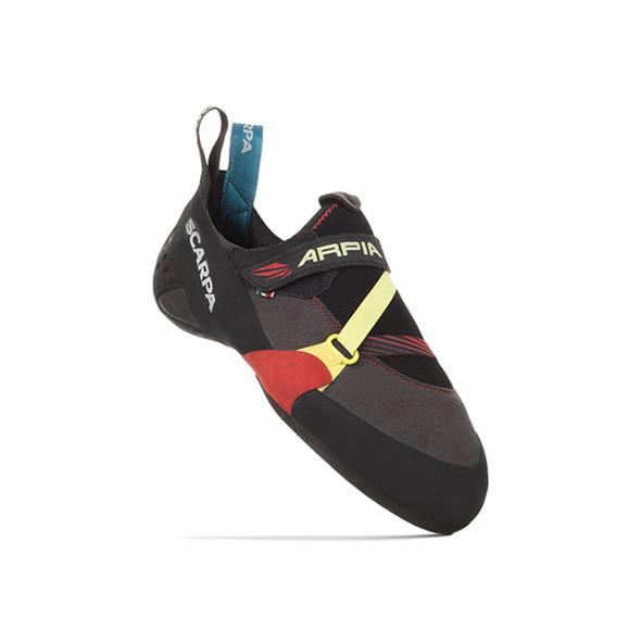 Scarpa Arpia Climbing Shoe - Men's - Size 43.5 - Black/Red - Open Box