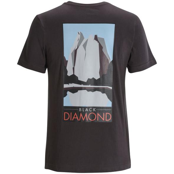 Black Diamond Destination Tee Shirt - Men's - Back