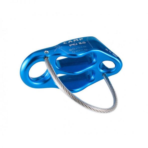 CAMP Cassin Piu 2.0 Belay/Rappel Device - One Size - Blue