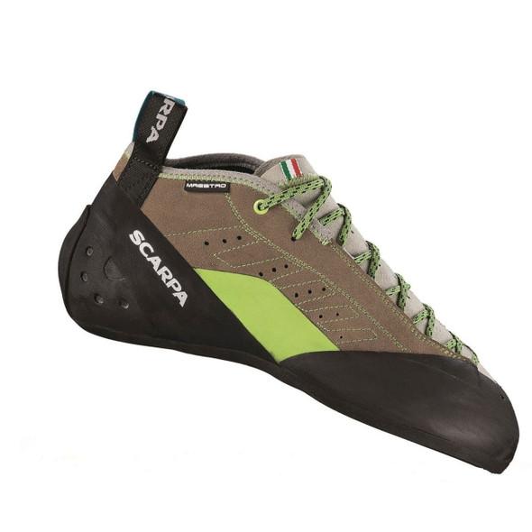 Scarpa Maestro Mid Rock Climbing Shoe - Men's - Stone/Light Grey