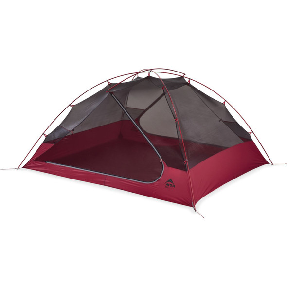 MSR Zoic 3 Person backpacking Tent - 3 Person - Red