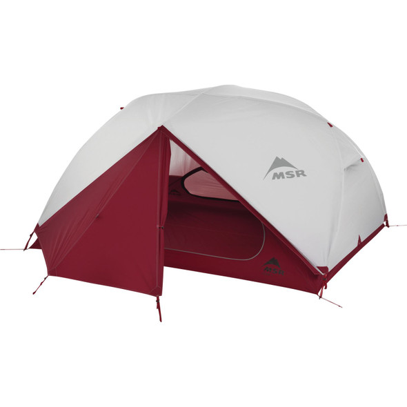 MSR Elixir Person Backpacking Tent - 3 Person - Red