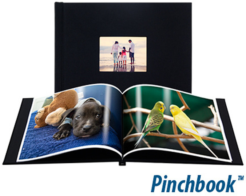 Pinchbook Photobook Leather (PU) with Window