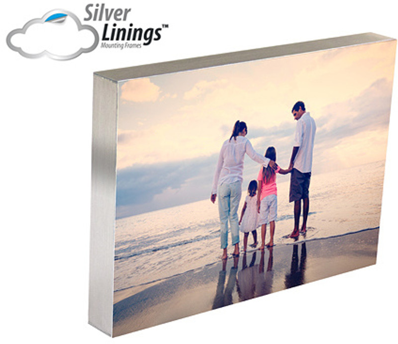 Silver Linings Photo Mounting Frames