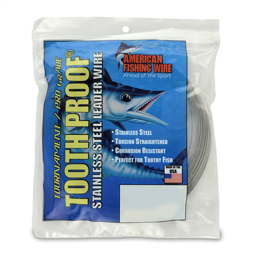 Tackle, Leader, #5 Toothproof Stainless Steel