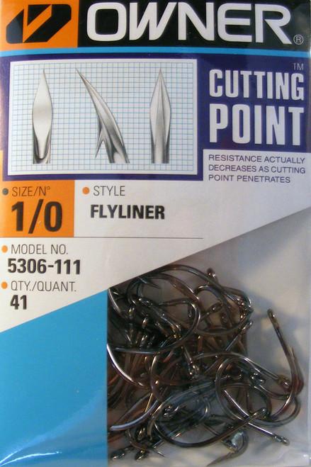 Ringed Flyliner Hooks Pro Pak 41/ Pack Size 1/0