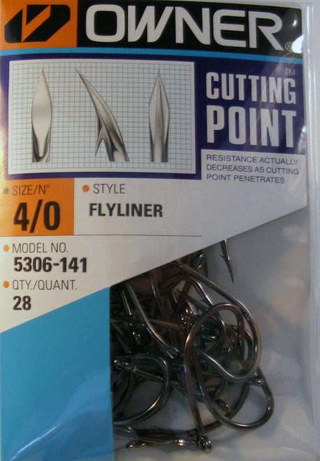Flyliner Hooks Pro Pak 28/ Pack Size 4/0
