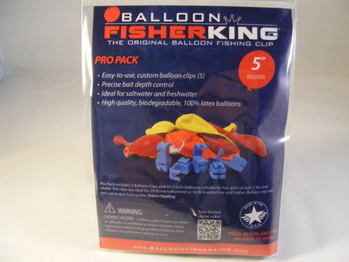 """Balloon Fisher King Pro Pack 5"""""""