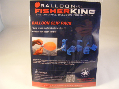 Balloon Fisher King Clip Pack (5 clips)