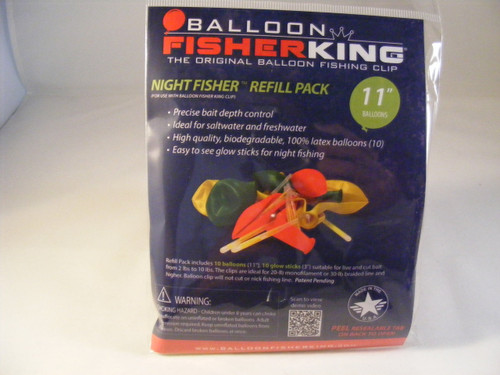 Balloon Fisher King Night Fisher Refil Pack