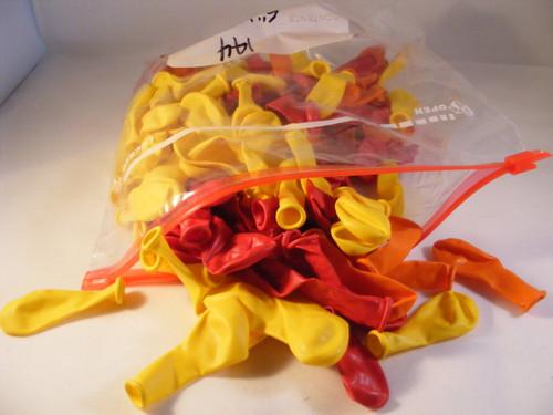 """Bulk Balloons 5"""" 144 Latex 100% biodegradeable"""