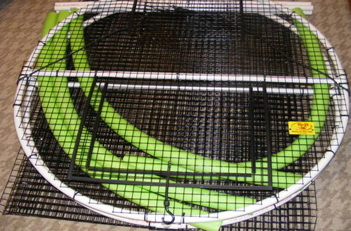 Collapsible Bait Pen 4x4x4 Round