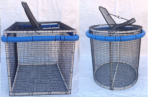 Collapsible Bait Pen 2x2x2 Round