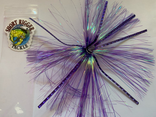 Mackerel Magic Skirts are even more MAGICAL! All Mackerel Magic Elite lures are hand tied in South Carolina with all components made in the USA. Made with lightweight heads and high quality flashabou mylar and hard strip mylar for a little more FLASH!