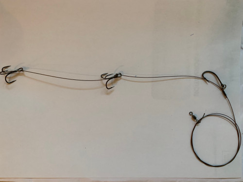 3 Hook live bait rig