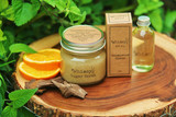 Sandalwood Citrus Sugar Scrub + Oil Collection