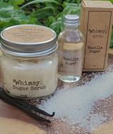 vanilla sugar collection, vanilla sugar sugar scrub, vanilla sugar body oil