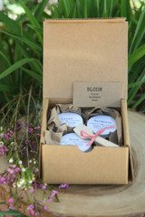 BLOOM trio mini sugar scrub gift set