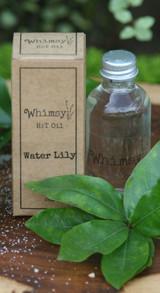 water lily, water lily body oil, clean body oil, fresh body oil, clean, fresh, white tea, rain