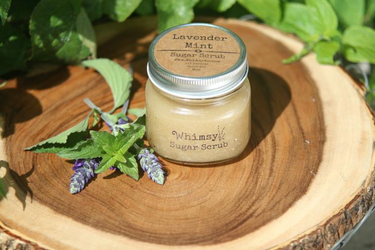 Lavender Mint Sugar Scrub