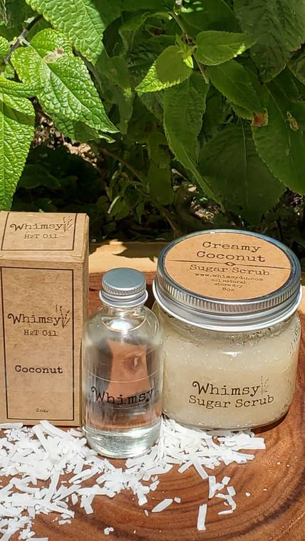 Coconut Sugar Scrub, Coconut Oil, Coconut Body Oil, coconut collection