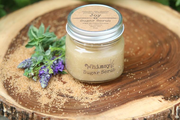 Joy (herbal) sugar scrub