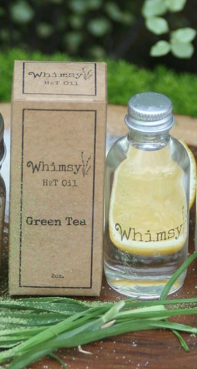 green tea, green tea oil, green tea body oil, fresh, clean citrus