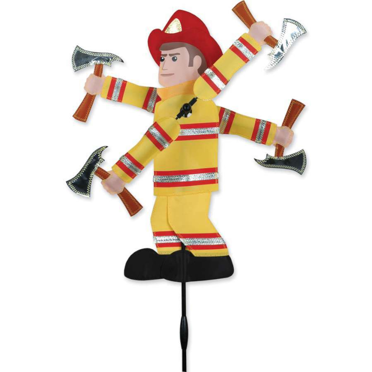 Fire Fighter Wind Spinner