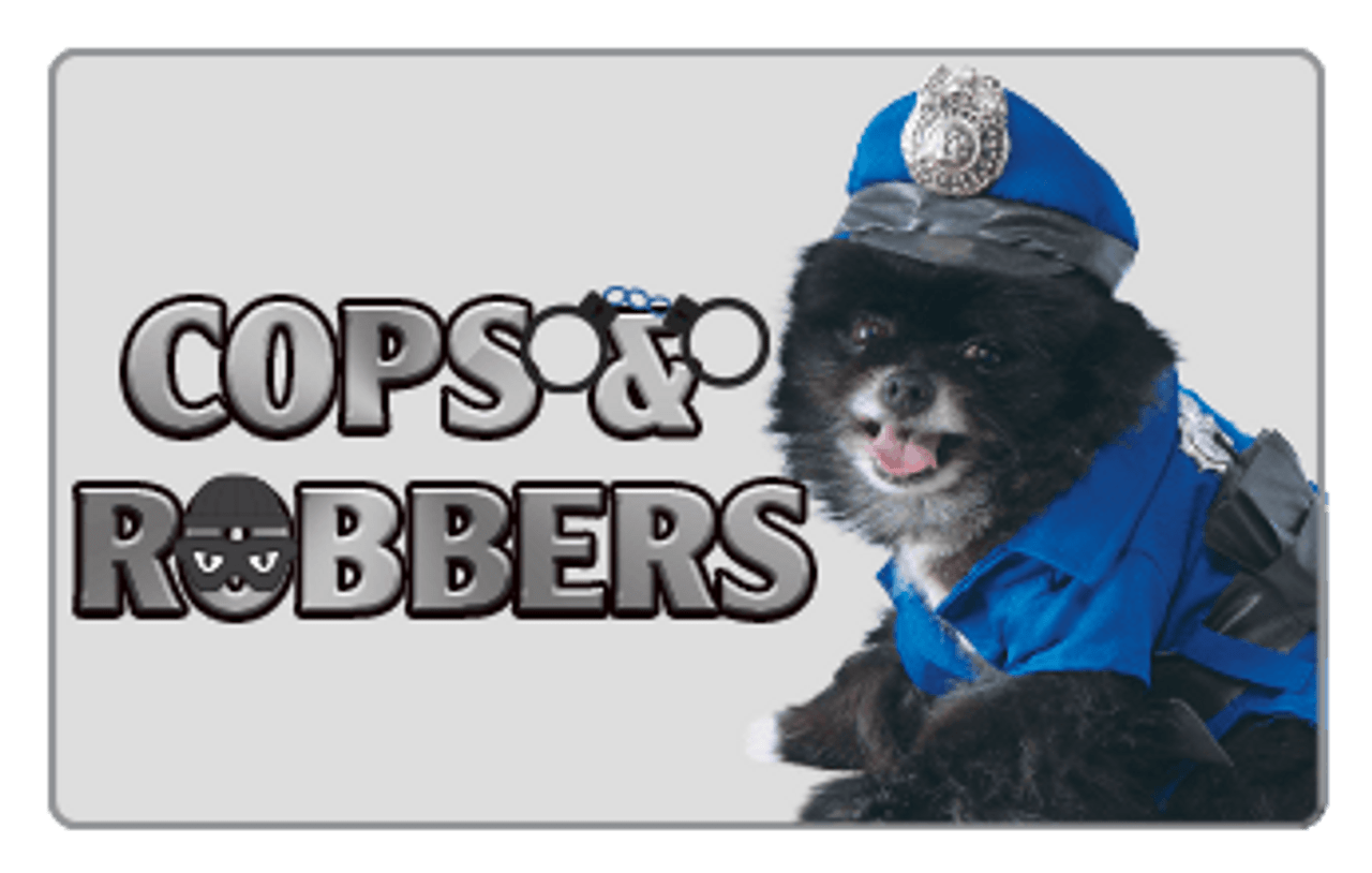 Cops and Robbers Pet Costume
