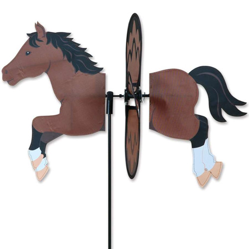 19 Inch Bay Horse Petite Wind Spinner