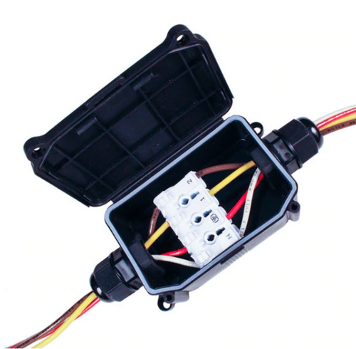 4 Wire Outdoor Junction Box With Connector  JUNCTION-L
