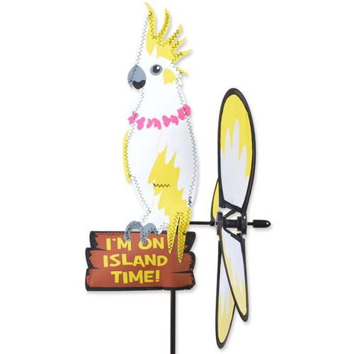 16 Inch Cockatoo Petite Wind Spinner