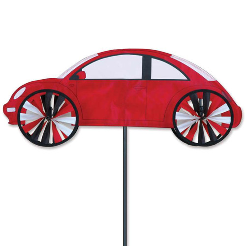 24 Inch Red VW Beetle Car Wind Spinner
