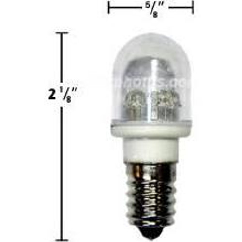 .7 watt 120 volt White Led T5 Bulb 25 Pack