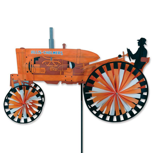 43 Inch Allis Chalmers Tractor Wind Spinner