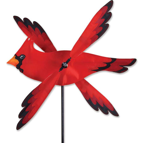 17 Inch Cardinal WhirliGig Wind Spinner