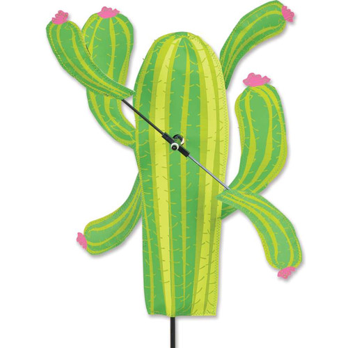 18 Inch Cactus WhirliGig Wind Spinner